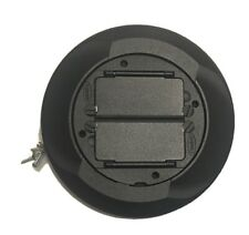 HUBBELL WIRING DEVICE-KELLEMS S1CFCBL Floor Box Cover Carpet Flange,Black 62S4