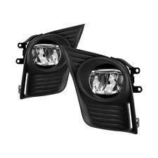 Fit 2014-2017 Lexus CT200H LED Bumper Fog Lights w/ Switch+Relay+Wiring