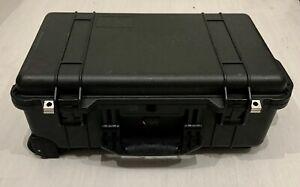 Good condition Black Peli 1510 Waterproof Protector Case