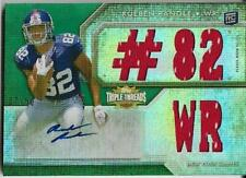 2012 TOPPS TRIPLE THREADS EMERALD #118 RUEBEN RANDLE RC JERSEY AUTO 7/50 GIANTS