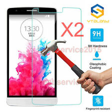 2Pcs 9H+ Premiun Tempered Glass Screen Protector For LG Stylus 3 / Stylo 3 Plus