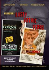 Russ Meyer's LUSTY GOTHIC YEARS (DVD) 2 disk set  US format