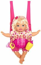 Little Mommy Laugh & Love Baby Realistic Sounds and Movements Baby Carrier NEW