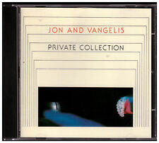 Jon And Vangelis - Private Collection CD West Germany Red Polydor