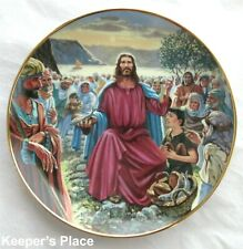 Franklin Mint Feeding The Multitudes Plate Heirloom Collection William Ternoy