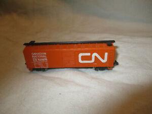 """Vintage Atlas N scale 40' box single door """"CANADIAN NATIONAL"""""""