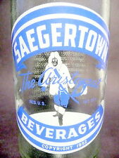 vintage ACL Soda Pop Bottle:  embossed glass SAEGERTOWN of PA    - 32 oz ACL
