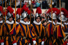 698083 Swiss guardias Vaticano Roma Italia A4 Foto Impresión