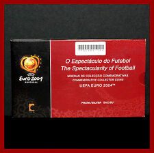TRIPTIQUE  EUROS BU 3 X 8 EUROS ARGENT  PORTUGAL 2003 EURO DE FOOTBALL 2004  N°2