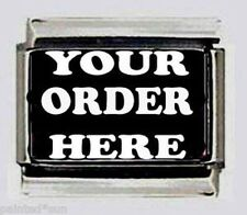 SPECIAL  ORDERS Pet name or Your name TAKEN FOR 9mm Italian PHOTO Charms