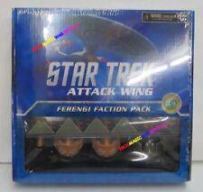 STAR TREK ATTACK WING: FERENGI FACTION PACK (Independent) 4 Plastic Ship + Cards