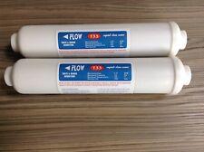 2 Inline Fridge Water Filter External  compatible with Daewoo etc