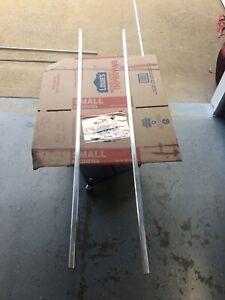 1981 - 91 DODGE RAMCHARGER RAM TRUCK L & R FENDER UPPER TRIM SET of 2