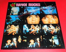 Hanoi Rocks -- All those wasted years  -- 2 LPs / Punk Rock Indie