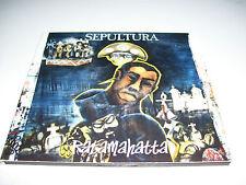 SEPULTURA - RATAMAHATTA * 4 TRACK CD MAXI DIGIPAK 1996 *