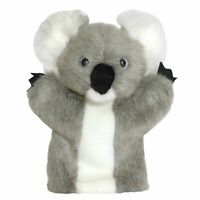 DINKI DI MATES GREY KOALA PUPPET SOFT ANIMAL PLUSH TOY 25cm **NEW**