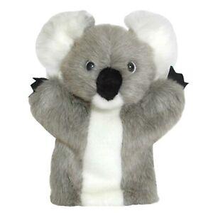 DINKI DI MATES GREY KOALA PUPPET SOFT ANIMAL PLUSH TOY 25cm **NEW**