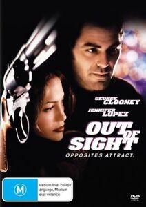 Out Of Sight (DVD, 2017) - R4