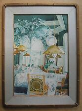 "Angelito ""Lito"" David - Watercolor - Cafe in Manilla - Original - EC"