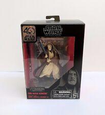 Star Wars Black Series 40th Anniversary Obi-Wan Kenobi Titanium Series Die Cast