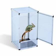 PawHut D40-006 Reptile Aluminium Fresh Air Screen Waterproof Vivarium