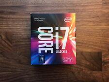 NEW Intel Core I7-7700K Quad-Core Processor 4.2 GHZ 8 MB Cache (BX80677I77700K)