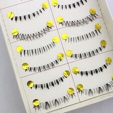 10 Pairs Different Lower Bottom False Eyelashes Fake Eye Lashes Cosmetic M6