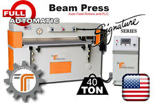 NEW!! CJRTec 40 Ton Beam Press CNC - Automatic Die Cutting Machine
