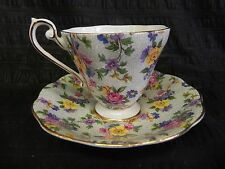 Vintage Royal Standard Fine Bone China Tea Cup & Saucer Made In England Chintz