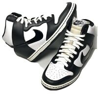 Nike Dunk Sky Hi Wedge Black White Sneaker Shoe 528899-103 Sz 8.5 Jordan
