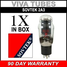 Plate Current Tested Sovtek 2A3 Triode Power Vacuum Tube- Brand New