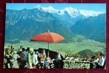 AK Ansichtskarte Interlaken Harder Kulm Eiger Mönch Jungfrau kostenloser Versand