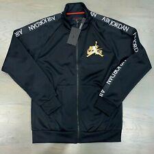 Nike Air Jordan Jumpman DMP Black Gold Classics Tricot Warmup Jacket Ck2180-011