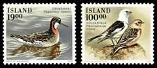 Iceland 1989 Birds: Red-necked Phalarope and Snow Buntings MNH / UNM