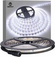 Led Waterproof Strip Lights White Flexible Rope Lighting Tape Light 12 Volt 5M