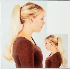 LUXUS HAARTEIL -TAMARA 2- HELLBLOND- SPANGE Solida Bel Hair (132) LESEN