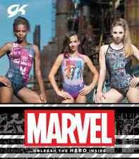GK Elite Marvel Avengers Gymnastics Dance Leotard Child Medium CM M