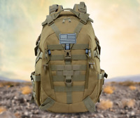 3P Tactical Military Backpack Oxford Sport Bag 40L for Camping Traveling Hiking