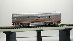 Athearn HO Train Santa Fe EMD Super Geared F7B  Diesel Locomotive RTR