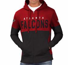 Atlanta FALCONS G-III MEN'S OFFICIAL NFL PRIME TIME FULL-ZIP HOODIE, size XL