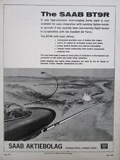 3/1968 PUB SAAB AKTIEBOLAG AG SAAB BT9R LASER RANGING BOMB SWEDISH AIR FORCE AD