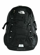 The North Face Mens TNF Black Borealis Media Friendly Backpack Hiking Bag New