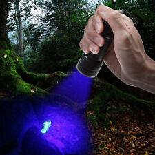 LED UV Blacklight Scorpion Flashlight Super Bright Detection Light Outdoor