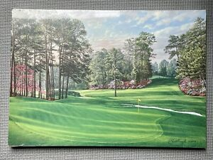 1998 Masters Augusta National, Member's Gift - Linda Hartough Print of Hole #6