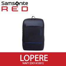 """Samsonite Red 2018 Lopere Backpack L 15.6"""" Laptop Tablet EMS 30x10x46cm / Navy"""