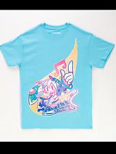Hatsune Miku Japan Anime Vocaloids Cosplay Miku Character T- Shirt  NEW