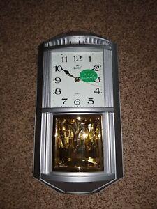 wall clock pendulum chime melody