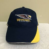 West Coast Eagles AFL Football Vintage Adult Mens Baseball Cap Hat