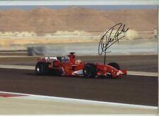 Luca Badoer Ferrari F1 Testing Signed Photograph 1