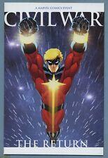 Civil War The Return #1 2007 [Captain Marvel] Limited Ed McGuinness Variant m